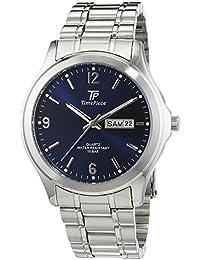 Time Piece Herren-Armbanduhr XL Sporty Analog Quarz Edelstahl TPGS-30166-32M