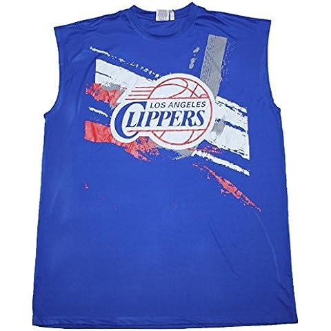 NBA tamaños Hombre los angeles clippers deportivo Dri-Fit Reservorio de baloncesto, hombre, azul, xx-large