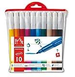 Caran dAche Fancolor Maxi Fiber-Tipped Pen Kit (10 Colors) (japan import)