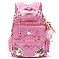 Backpack for Girls,Lovely Bookbag Series Adorable Princess School Backpack for Elementary School Bags
