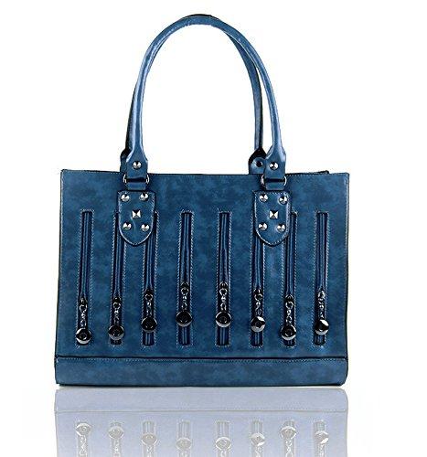 Mefly La Nuova Moda Borse Blu blue