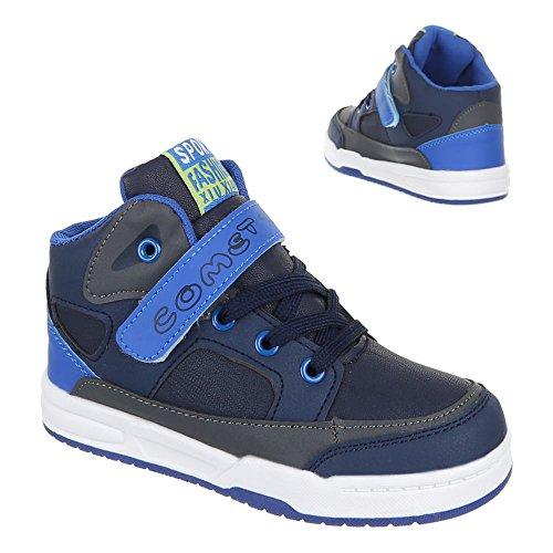 Chaussures pour enfants, 1020, loisirs chaussures sneakers sportive Bleu - Bleu