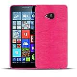 Conie BC19560 Brushed Case Kompatibel mit Microsoft Lumia