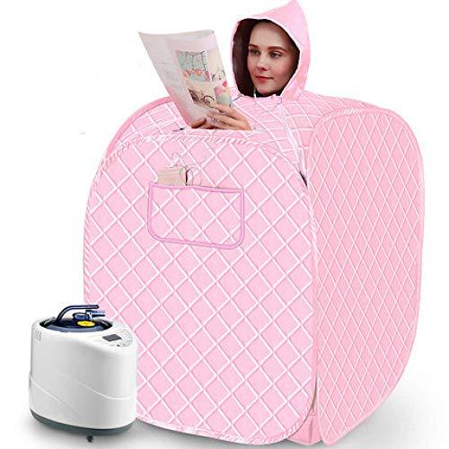 YXLONG Infrarot Sauna Tragbare Heizung Faltbare Wärmekabine Ferninfrarot Maschine Heater Entgiften Abnehmen Gewicht Home Zimmer,Pink