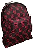 QUIKSILVER BACKPACK RUCKSACK SCHOOL BAG RED BLACK SPORTS STUDENT BAG
