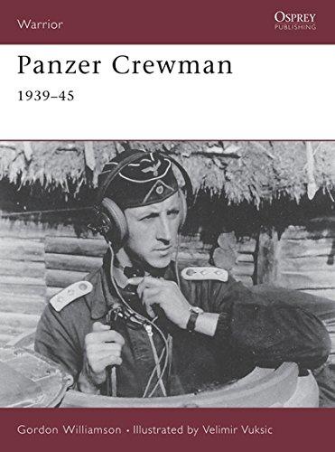 Panzer Crewman 1939-45: 1939-1945 (Warrior)