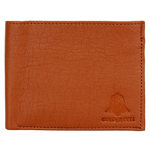 Golden Bell Casual Tan Brown Wallet for Men  available at amazon for Rs.145