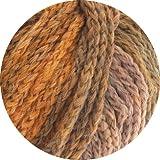 Lana Grossa Alta Moda Superbaby Color 306 - Hellgrau/Hellorange/Altrosa