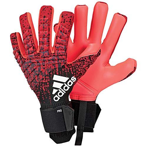 adidas Herren Predator Pro Torwarthandschuhe Active Black/Solar Red, 8.5