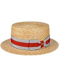 Stetson Paglietta Wheat Boater Donna Uomo  0664f299068a