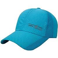 Gorra de Sol SUNNSEAN Sombreros de Moda Deportes al Aire Libre Golf  Montañismo Mallas Respirable Casualles e3fd97602e6