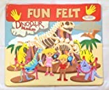 Large Children\'s Kids Dinosaur Museum Fuzzy Felt Creative Scene Fun Toy