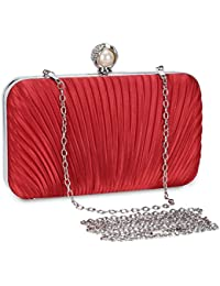 Selighting Bolsa de Noche Mujer Bolso de Mano Bolso Clutch de Embrague  Monedero para Mujeres y 91b7e704f02f