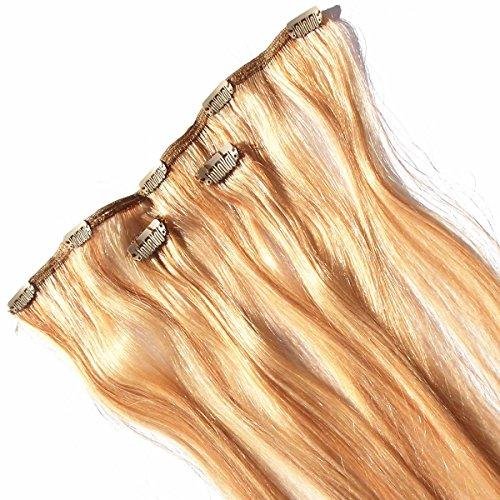 Clip en extensions de cheveux Extensions de cheveux réel - Sensationnel de clips de plus - HH Pro 3 pieces - 100% Cheveux Naturels/100% Human Hair (18 inch (46 cm))