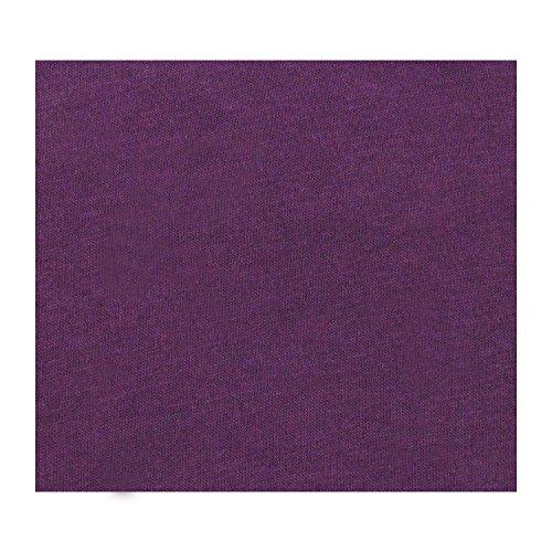 badtex24 Spannbettlaken 90 100 x 200 Spannbetttuch Bettlaken Jersey 100% Baumwolle 20 Farben Aubergine 90x190-100x200cm - 2