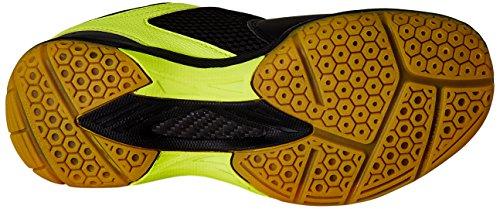 Yonex-SRCR-75-Badminton-Shoes-UK-7-Black-with-1-pair-of-Yonex-Socks-Free-size