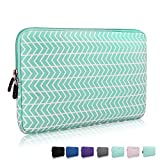 15-15.6 Inch Thickest Lightest Laptop Sleeve, Zikee Water Resistant Neoprene Protective Laptop Case for Lenovo/HP/Dell/Acer/Asus/MSI/Medion (Chevron)