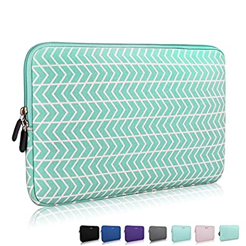 13.3 14 Inch Thickest Lightest Laptop Sleeve, Zikee Water Resistant Neoprene Protective Laptop Case for Lenovo/HP/Dell/Acer/Asus/MSI/Medion