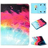 MYTHOLLOGY Universale 17,8 cm Tablet Cover in Ecopelle, con Supporto e della Carta Compatibile con Lenovo Tab 3 7 - 730 m/TB3 TB3 - 730 F/Lenovo TB3 - 730 x