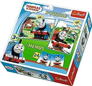 Puzzle Tomek i przyjaciele 2w1+memos