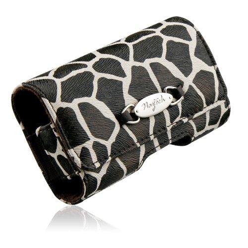 Naztech Safari Schutzhülle für Mobiltelefone und PDAs (mittelgroß, Giraffe) Pda Holster