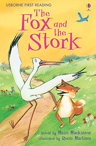 The Fox and the Stork (2.1 First Reading Level One (Yellow))