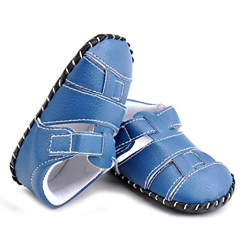 Estamico,bambino sandali del ragazzo, pattini infantili estate Cuciture blu