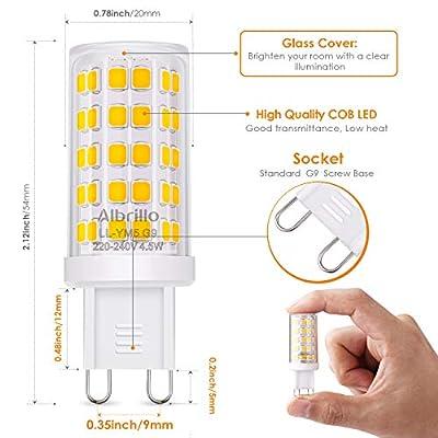 Albrillo G9 LED Lampe