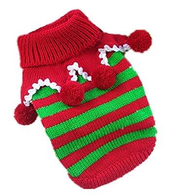 TheWin Knit Pet Dog Sweater Coat