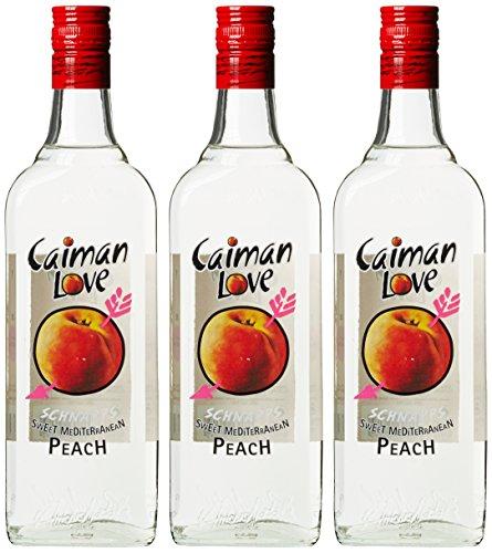 Licor Pfirsichlikör Caiman Love Früchte (3 x 0.7 l)