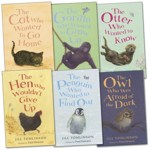 Jill Tomlinson Pack, 6 books, RRP £28.94 (The Cat Who Wanted To Go Home, The Hen Who Wouldn't Give Up, The Otter Who Wanted To Know, The Owl Who Was Afraid Of The Dark, The Penguin Who Wanted To Find Out, The Gorilla Who Wanted to Grow).