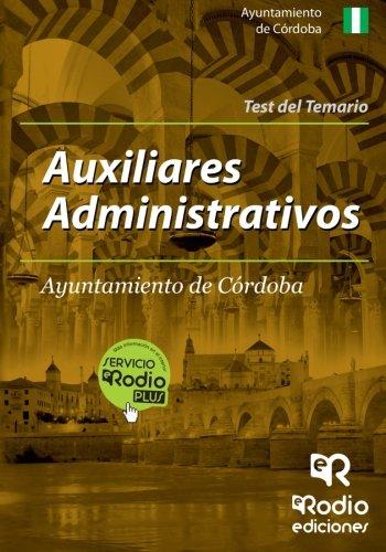 Auxiliares Administrativos Ayuntamiento Córdoba. Test (Oposiciones)