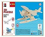Marabu KiDS 3D Holzpuzzle Wasserflugzeug, 28 Teile, ca. 21 x 9 cm