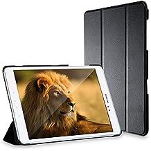 Galaxy Tab A 9.7 Funda, JETech® Slim Fit Galaxy Tab A 9.7 Smart Case Funda Carcasa con Stand Función y Auto-Sueño/Estelar para Samsung Galaxy Tab A 9.7 pulgadas (Negro)