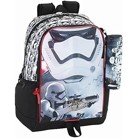 Star Wars–La Guerra De Las Galaxias Mochila, escolares. Con Estuche, estuche