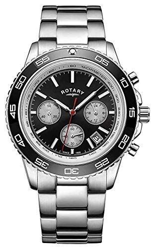 Rotary uomo multi quadrante orologio GB00410/04299.00centimetri