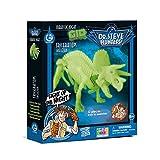 Dr. Steve Hunters cl1653K–Juegos Jurassic Night Glow in the Dark Triceratops