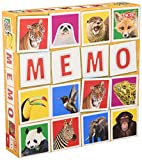 Wildlife Memo Game Tactic - Gioco Memory, Soggetto: Animali Selvaggi