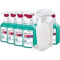 Desinfektions-Set von Schülke, 10 x 1000 ml Desderman® pure hyclick Händedesinfektionsmittel + 1x hyclick Spender preisvergleich bei billige-tabletten.eu