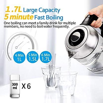 Morpilot-Glas-Wasserkocher-Edelstahl17-Liter-Elektrischer-Wasserkessel-mit-LED-Innenbeleuchtung-Automatische-Abschaltung-Durch-Strix-Contoller-BPA-Frei-Trockenlaufschutz-2200W-Durchsichtig2