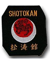 SHOGUN Écusson brodé - Karate Shotokan -livraison gratuite