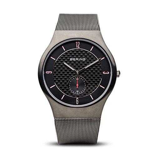 Bering classique pour homme en maille Bracelet de montre 11940–377