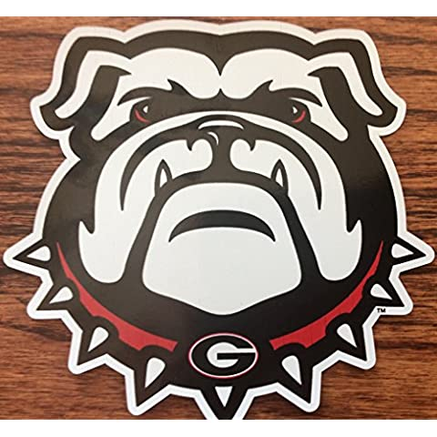 Georgia Bulldog Premium 3 Laminated Die Cut Cooler Cal, Coolers & Tumblers by Craftique