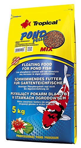 Tropical Pond Pellet Mix, 1er Pack (1 x 5 kg)