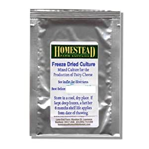 Cheese Culture - General Purpose Mesophilic - Freeze Dried Sachet