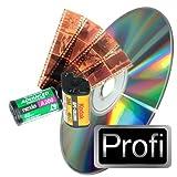 100 Negative (24x36mm) digitalisieren auf DVD - Scannen in Profi-Qualität