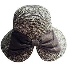 Moollyfox Mujer Sombrero de Playa con Visera bab8853a91c