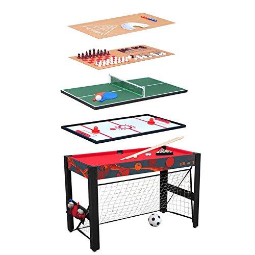 Multifunktionsspieltisch 12 in 1 / Multigame Tisch / Multifunktionstisch / Spieletisch / Basketball / Tischfußball / Billard / Tischtennis
