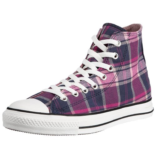 Converse Herren Casual, Purple Plaid, 37.5 EU -
