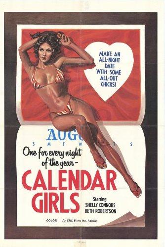 Calendar Girls Plakat Movie Poster (27 x 40 Inches - 69cm x 102cm) (1979)